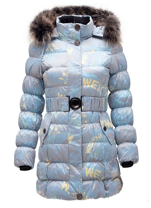 Верхняя зимняя одежда для девочек 7