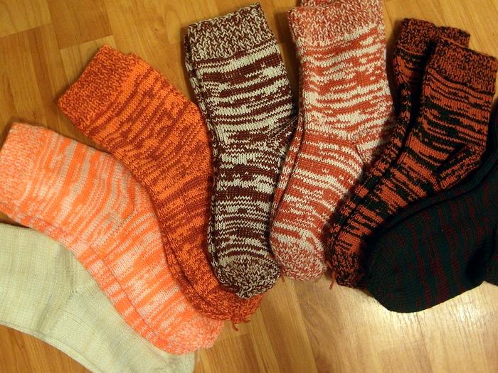 История вязания шерстяных носков